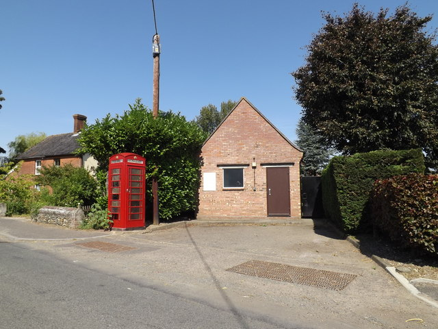 Bunwell Telephone Exchange & Telephone Box