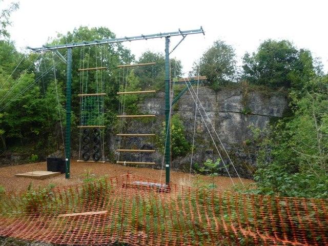Climbing frame, Mount Cook Adventure Centre