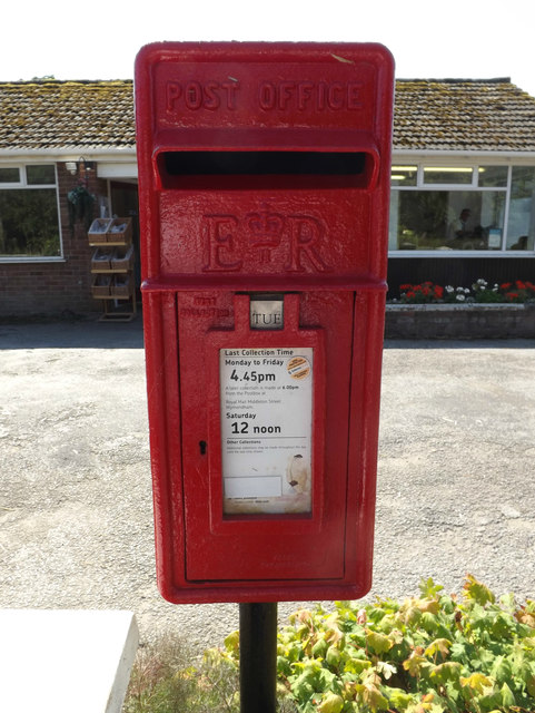 The Street Post Office Postbox