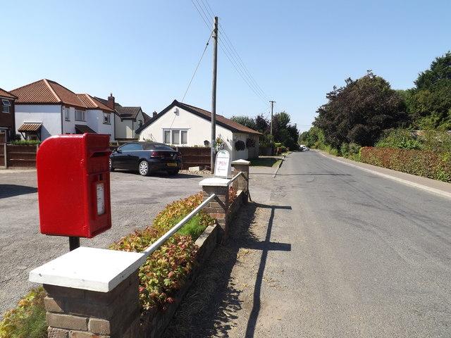 Bunwell Street & The Street Post Office Postbox