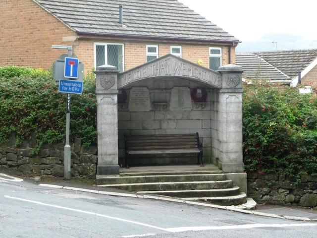 Bolehill and Steeple Grange War Memorial