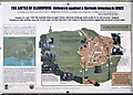 ST8806 : Defending Dorset in 1940: Blandford anti-tank island - interpretation panel (12) by Mike Searle