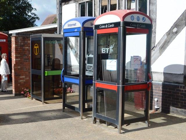 KX100 and KX100+ Telephone Kiosks