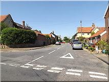 TM0890 : Chapel Street, New Buckenham by Adrian Cable