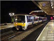 SP1955 : A Chiltern Railways train stands in Stratford upon Avon Station by John Lucas