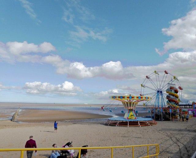 Cleethorpes beach fair