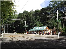 SC4384 : Laxey tram station by Tim Glover