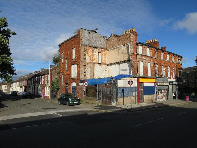 Partial demolition, Admiral Street