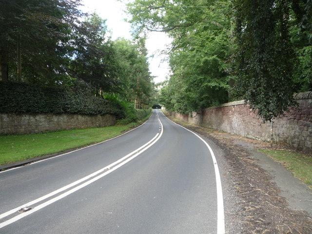 A698 towards Berwick