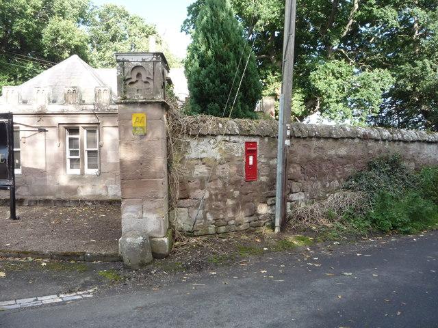 Victorian postbox, Tillmouth Park