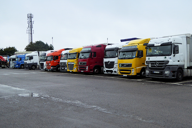 Lorry Park, Newport Pagnell Services (Northbound)
