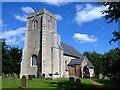 TF6503 : Historic church in Crimplesham, Norfolk by Richard Humphrey