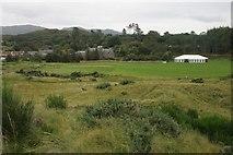 NM6691 : Camusdarach Lodge and marquee by Richard Sutcliffe