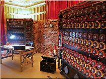SP8633 : Imitation Game Bombes at Bletchley Park by David Dixon