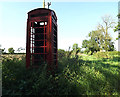 TM1485 : Telephone Box on Wash Lane by Adrian Cable
