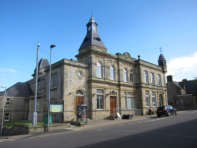 Lossiemouth Town Hall and Library