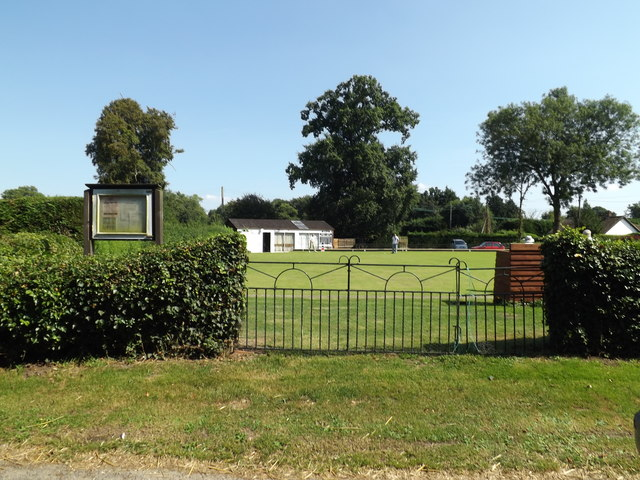 Gissing Bowling Green & Notice Board