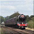 NY5863 : 60103 approaching Low Row - September 2016 (1) by The Carlisle Kid