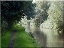 SK2222 : The Trent & Mersey Canal at Shobnall by Graham Hogg
