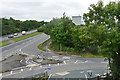 SX8376 : Road junction with the A38 by Alan Hunt