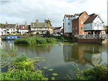 SO8832 : Picture postcard view of Tewkesbury by Philip Halling