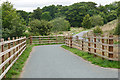 SX8376 : Stover Way cycle path by Alan Hunt
