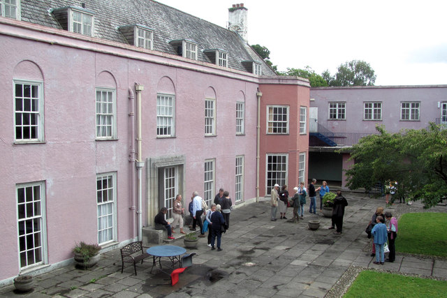 Foxhole School Courtyard at the time of the 2016 Reunion