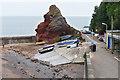 SX9676 : Cowhole Rock, Dawlish by Alan Hunt