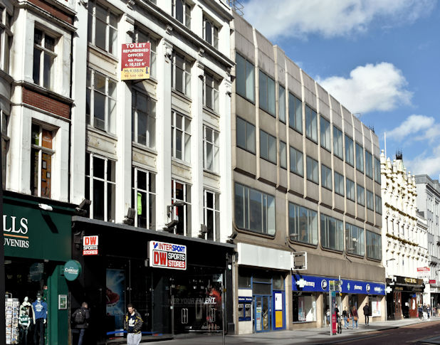 Nos 35-47 Donegall Place, Belfast (September 2016)