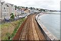 SX9676 : Railway, Dawlish by Alan Hunt