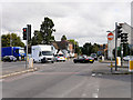 SP6359 : A5-A45 Crossroads at Weedon by David Dixon