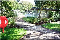 SZ2792 : Ford at Shorefield Holiday Park by John Walton