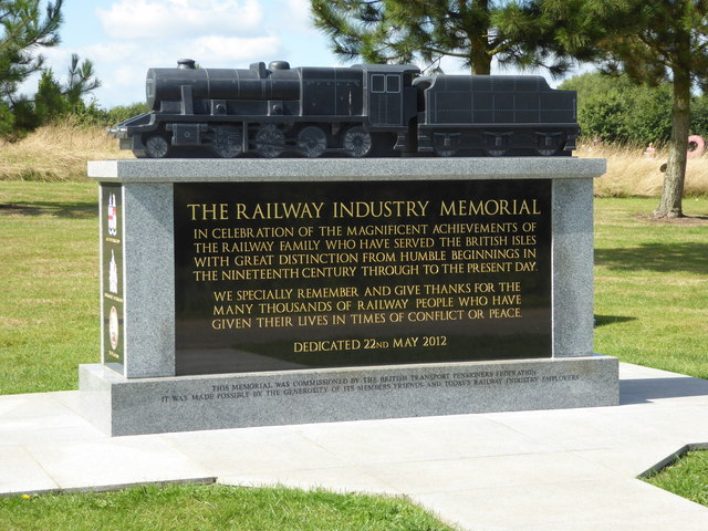 National Memorial Arboretum - The Railway Industry Memorial