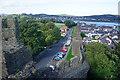 SH7777 : Town walls, Conwy by Bill Boaden