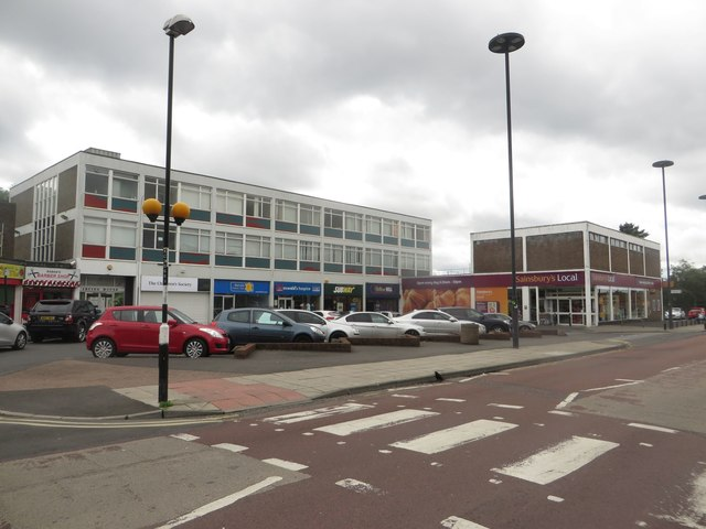 Shopping parade, Forest Hall