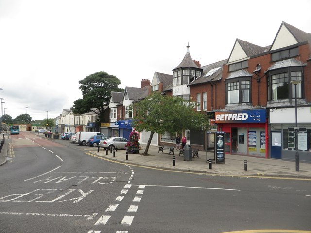 Shops, Station Road North, Forest Hall