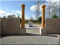 SK1814 : National Memorial Arboretum - The Masonic Memorial Garden by Chris Allen