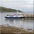 NM4099 : MV Sheerwater, at the old pier by Craig Wallace