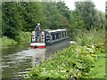 SK2827 : Cruising the Trent & Mersey Canal near Willington by Graham Hogg