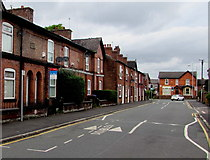 SJ8889 : Dale Street speed bumps,  Edgeley, Stockport by Jaggery