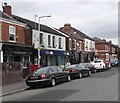 SJ8889 : Grenville Street shops, Edgeley, Stockport by Jaggery