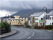L7399 : The village of Achill Sound by John Lucas