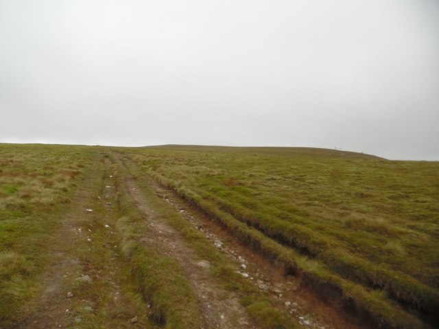 The final ascent of Glas Maol