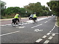 TQ2780 : East-west Cycle Superhighway CS3 in Hyde Park by David Hawgood