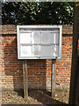 TL9176 : Fakenham Magna Village Notice Board by Adrian Cable