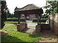 TL9176 : St.Peter's Church Lych Gate by Adrian Cable