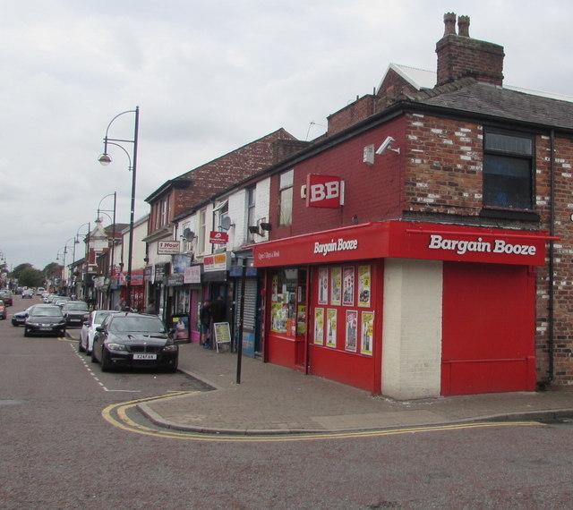 Bargain Booze, 18 Castle Street, Edgeley, Stockport