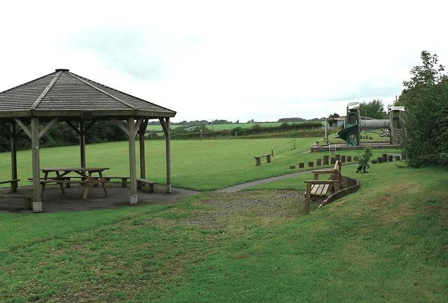 Northlew sports field and children's playground