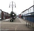 SJ8989 : Pedestrianised eastern end of Castle Street, Edgeley, Stockport by Jaggery