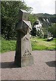 NN0858 : Sandstone obelisk at Ballachulish by Richard Sutcliffe